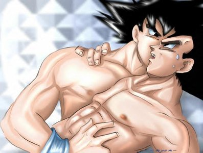 Its my turn now Vegeta-Vegeta x Goku-Maetel-ibDBZ Reloaded-b The Yaoi Saga -i-Thumb128